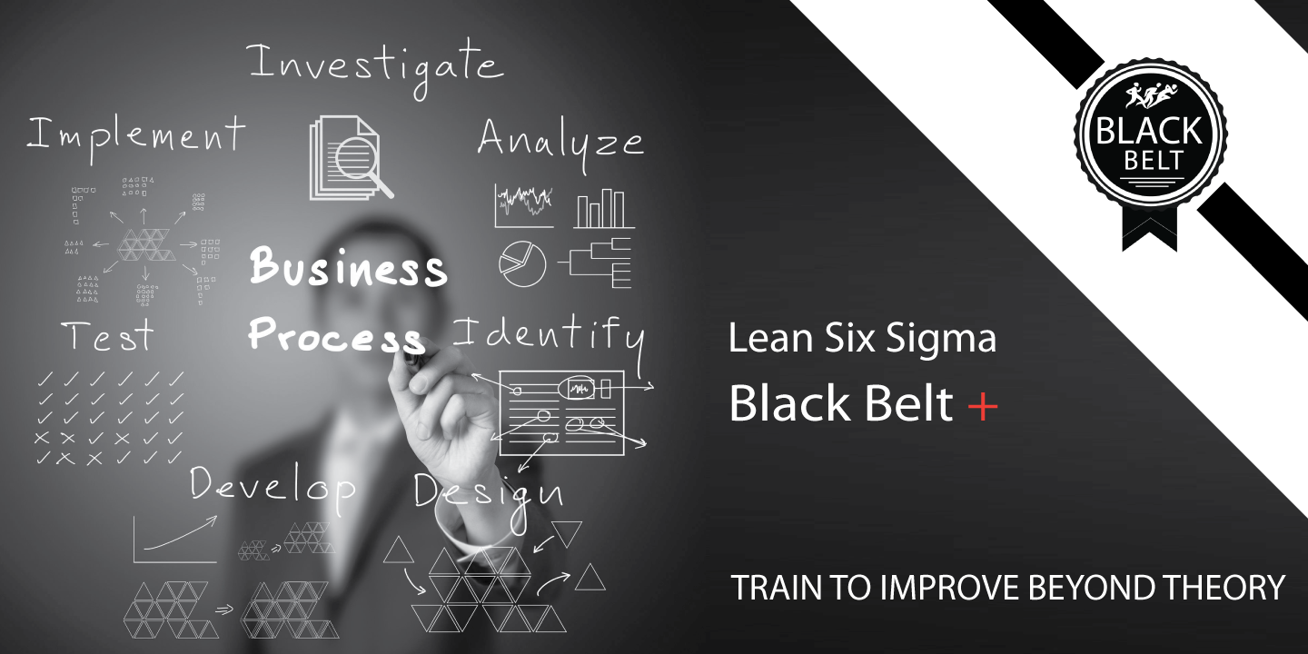 Advanced thinking unlocking organisational potential business process improvement using lean six sigma black belt plus xflitez Choice Image